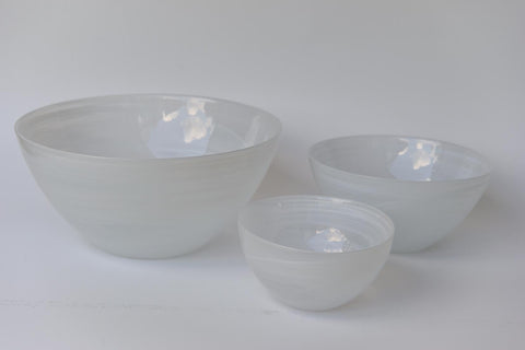 Small glass bowl marble effect - L'Atelier Natalia Willmott