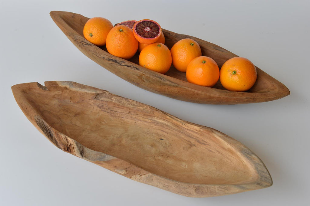 Teakroot boat shaped bowl - L'Atelier Natalia Willmott