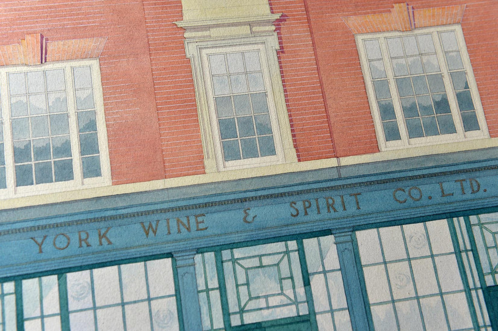 York wine and spirit company shop prospect - L'Atelier Natalia Willmott