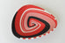 Zulu triangular basket plate - Red, black & white - L'Atelier Natalia Willmott