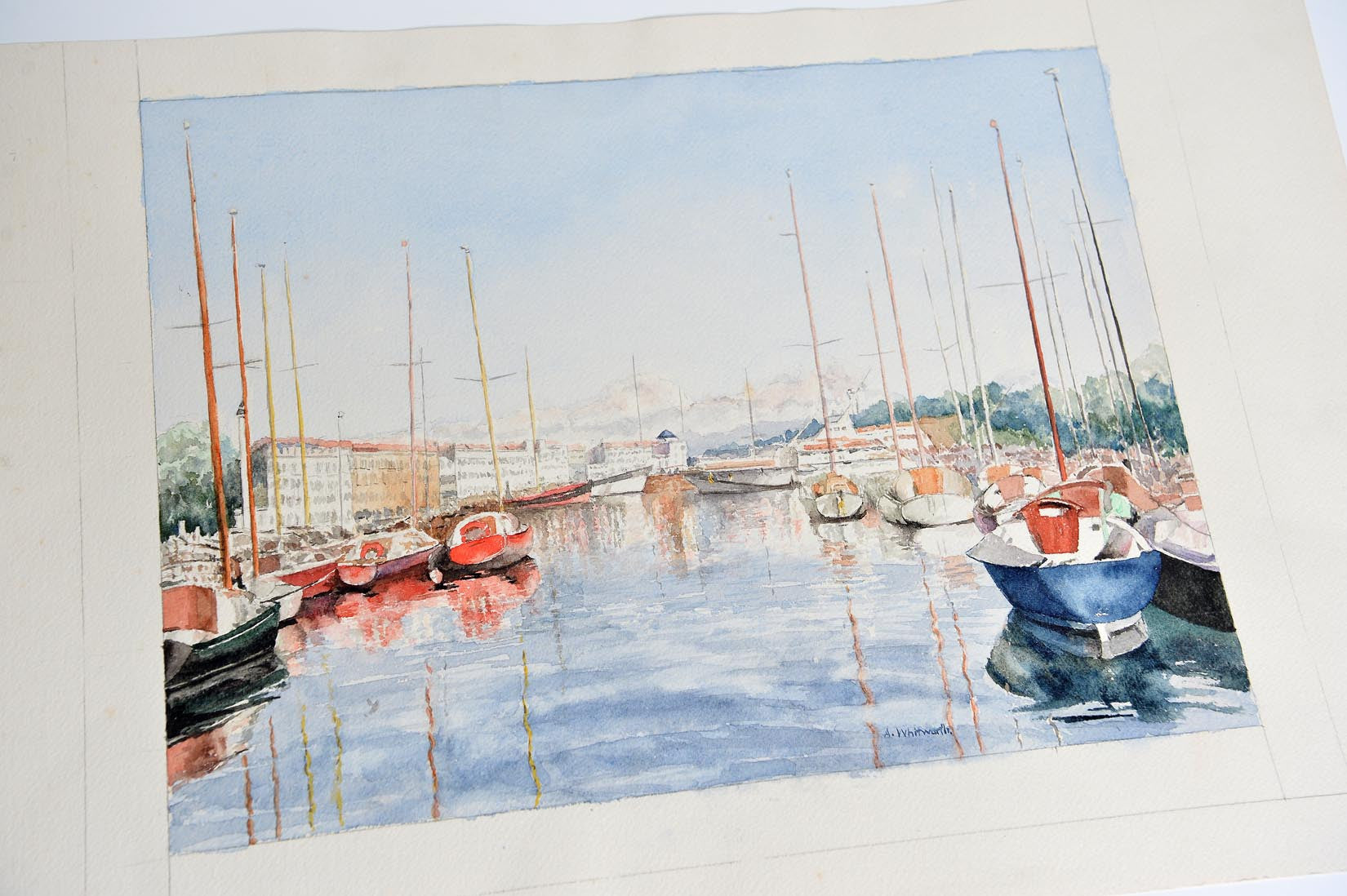 L Atelier La Rochelle marina watercoloura. whitworth - natalia willmott