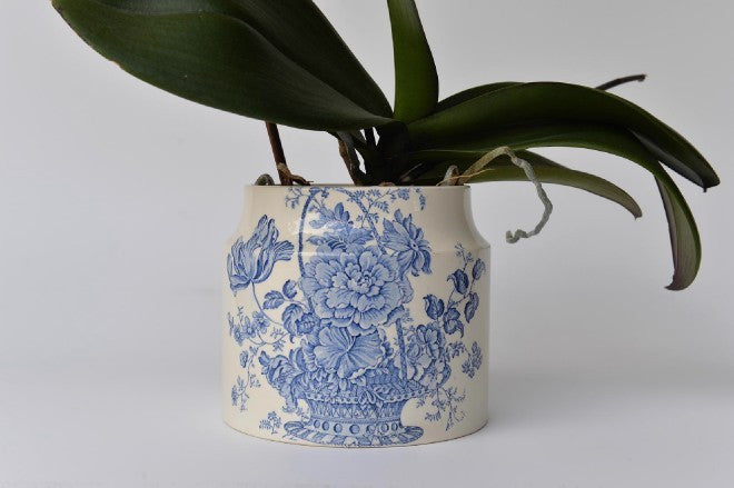 Vintage Crown Devon container - L'Atelier Natalia Willmott