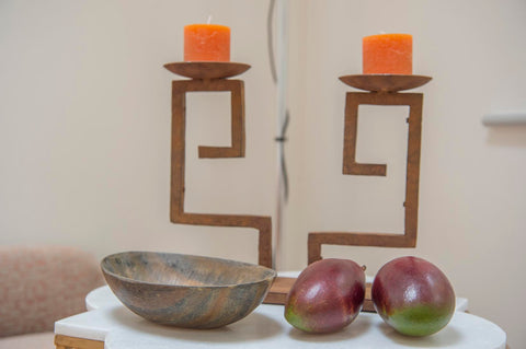 Ra - wrought iron candle holder - L'Atelier Natalia Willmott