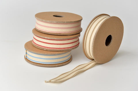 Stripped cotton ribbon - L'Atelier Natalia Willmott