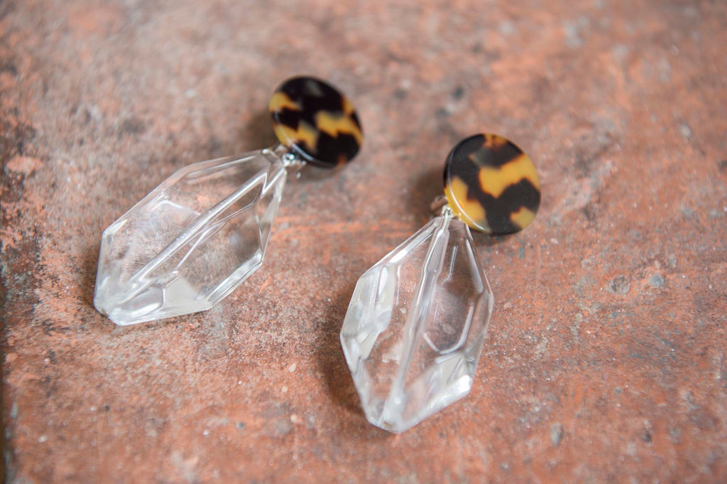 Crystal drop earrings - L'Atelier Natalia Willmott