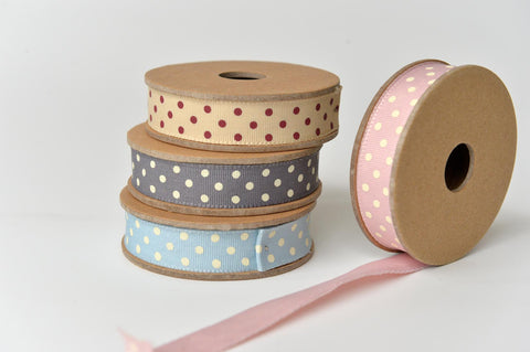 Spotty cotton ribbon - L'Atelier Natalia Willmott