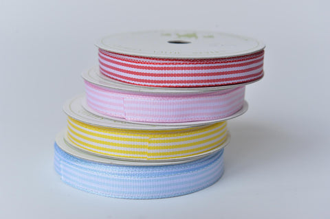 Candy stripe ribbon - L'Atelier Natalia Willmott