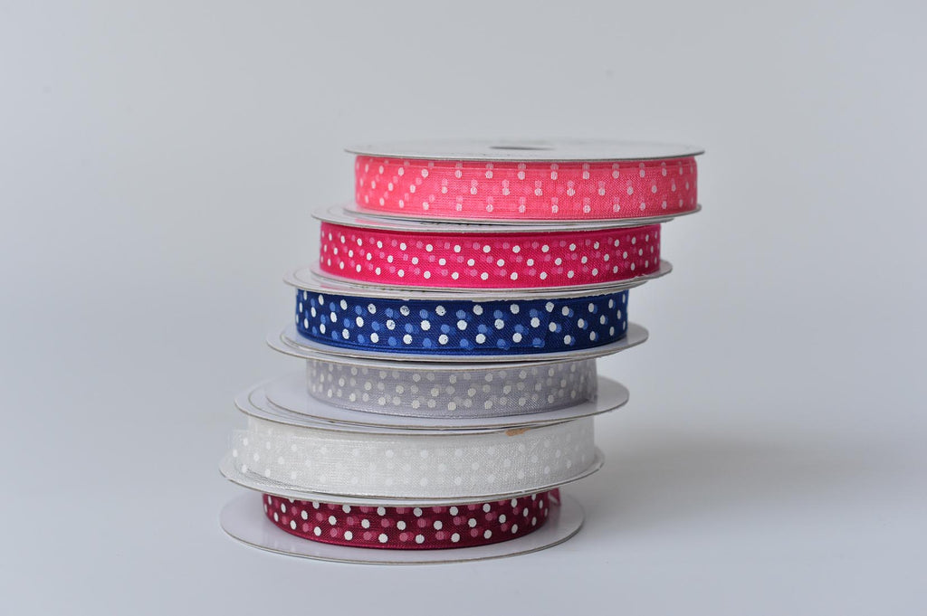 Gauze spotty ribbon - L'Atelier Natalia Willmott