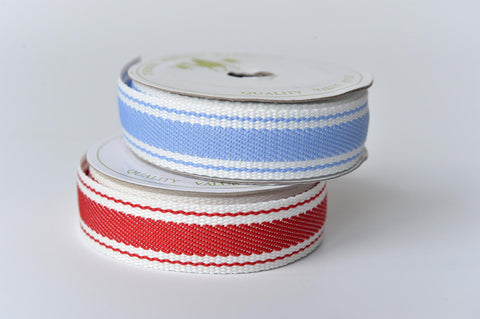 Thick stripe ribbon - L'Atelier Natalia Willmott
