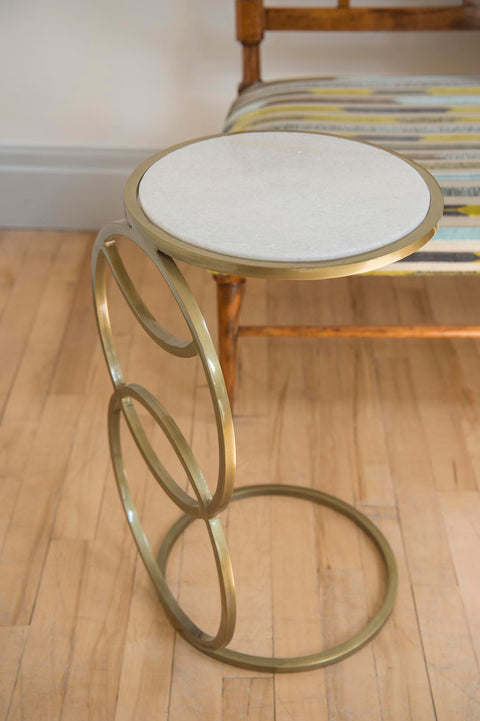 Metal side table - L'Atelier Natalia Willmott
