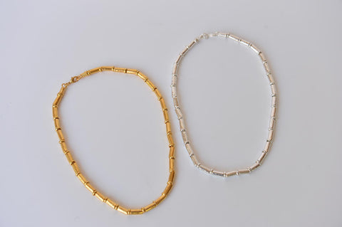 "Necklace ""Tubini"" by Elisabeth Riveiro - L'Atelier Natalia Willmott"