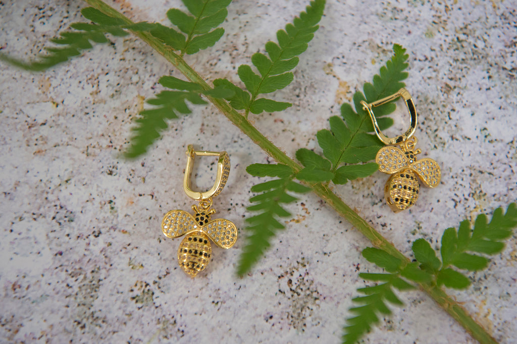 Bee earrings - L'Atelier Natalia Willmott