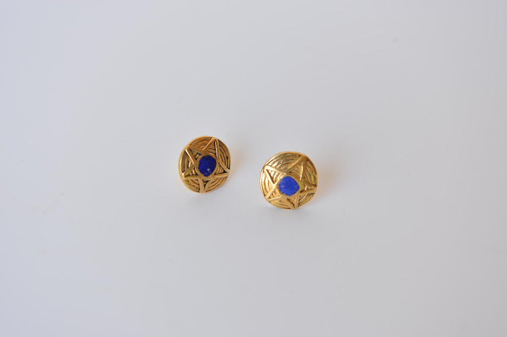 Star earrings by Elisabeth Riveiro - L'Atelier Natalia Willmott