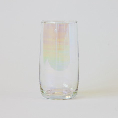 Set of 6 tall lustre glasses