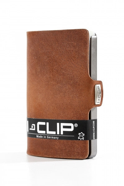 I-clip soft touch oak wallet - L'Atelier Natalia Willmott