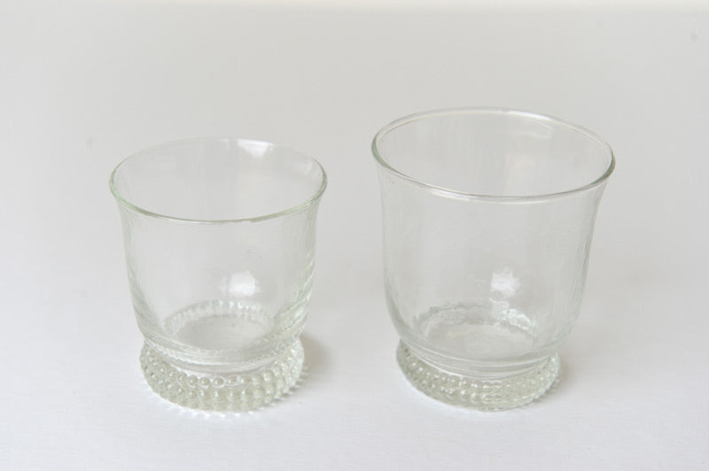 Set of 6 orangeade glasses