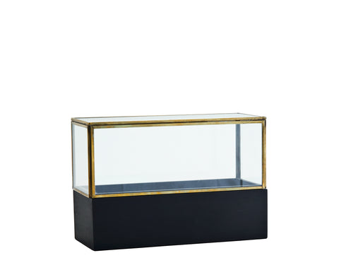 Glass box with a wooden base - L'Atelier Natalia Willmott
