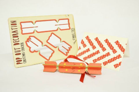 Cracker pop out Christmas card - L'Atelier Natalia Willmott
