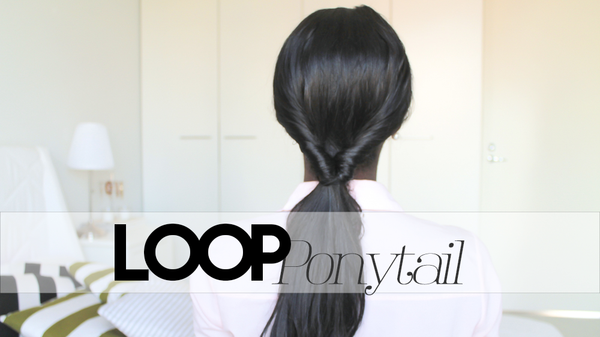How to create a loop ponytail