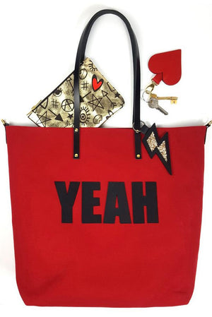 4 LETTER WORDS Tote Bag (available in 4 styles) - Dark Horse Ornament at The Bias Cut