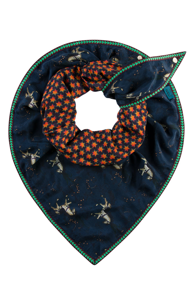 Double Carousel Ride Shawl