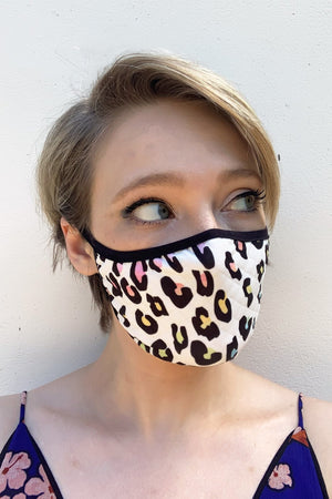 #AgeismIsNeverInStyle Face Covering (in 3 colourways) - £5 per covering goes to Hospice UK - the-Bias-Cut.com
