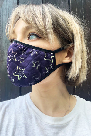 #AgeismIsNeverInStyle Face Covering (in 6 designs) - £5 per covering goes to Hospice UK - The Bias Cut at The Bias Cut
