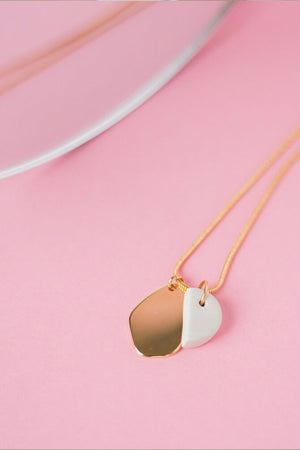Almond Necklace - Cloud + Clay at The Bias Cut