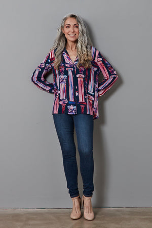 Bia Silk Blouse - Fabienne Chapot at The Bias Cut