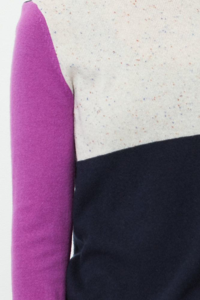 Block Shock 100% Cashmere Knit - Lisa Todd at The Bias Cut