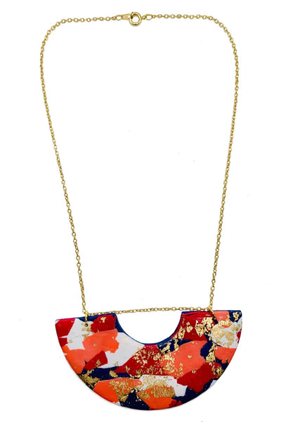 Bold & Beautiful - Statement Necklace - No Shrinking Violet