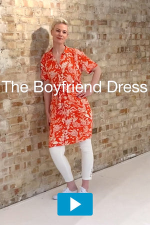 Load image into Gallery viewer, Boyfriend Dress - Fabienne Chapot at The Bias Cut