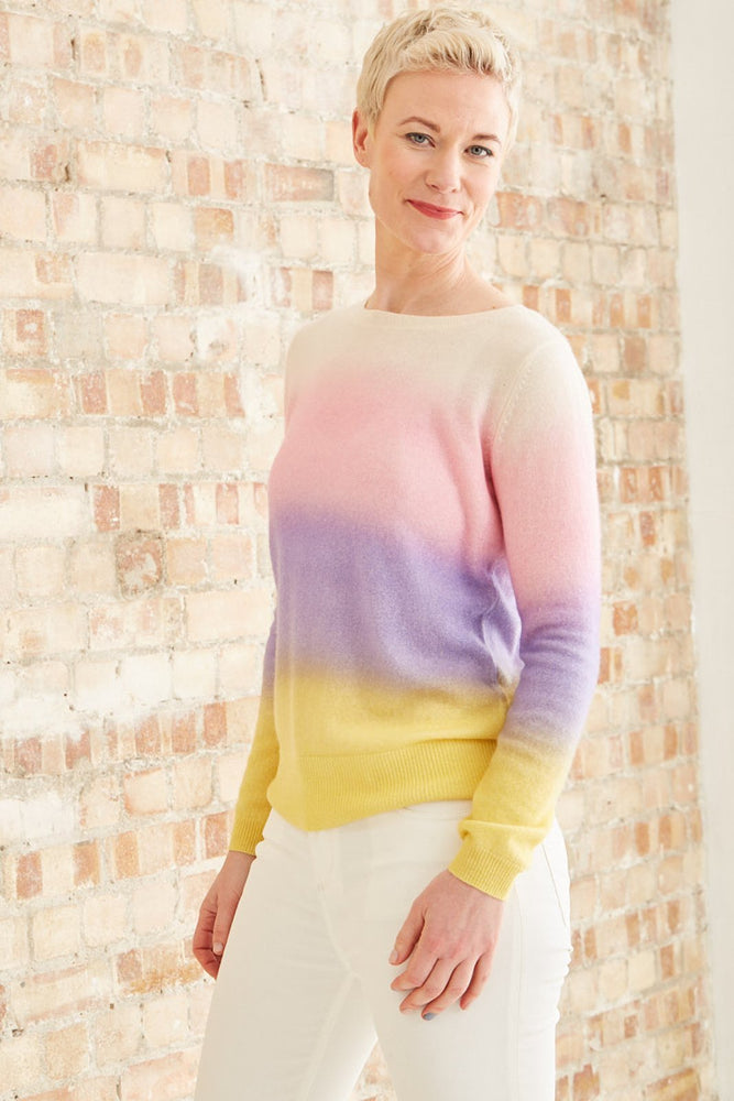 Camomile 100% Cashmere Jumper - Charli at The Bias Cut