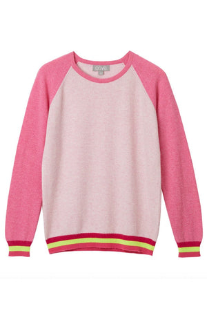 Load image into Gallery viewer, Carmen Pink Cashmere Jumper - Cove Cashmere