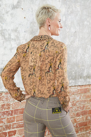 Carousel Ride Blouse - POM Amsterdam at The Bias Cut