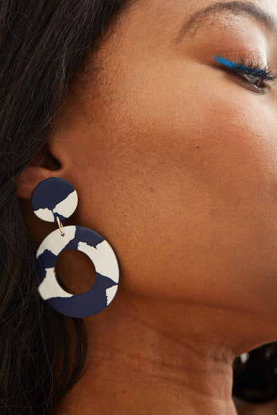 Catalina Large Earrings - No Shrinking Violet