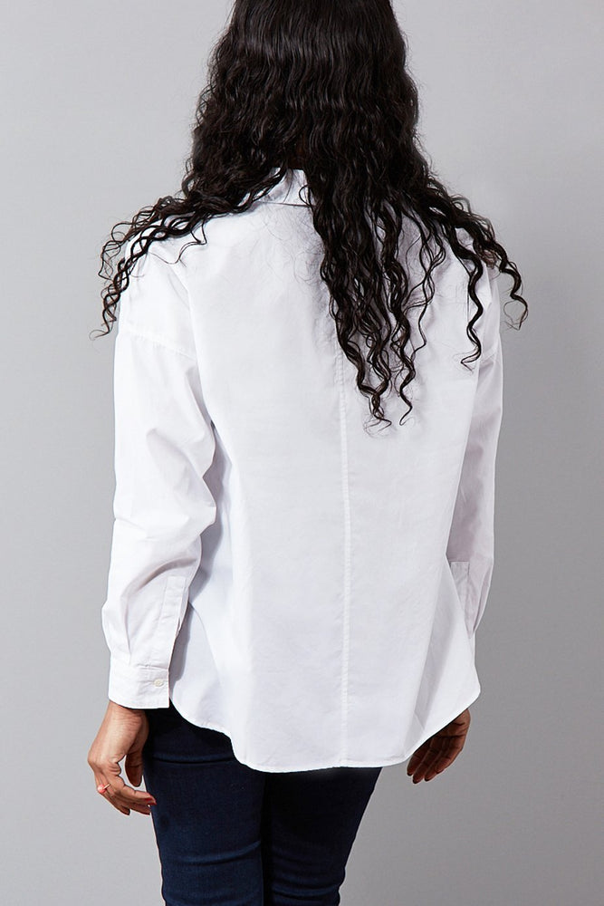 Cenita Oversized Cotton Shirt - Diega
