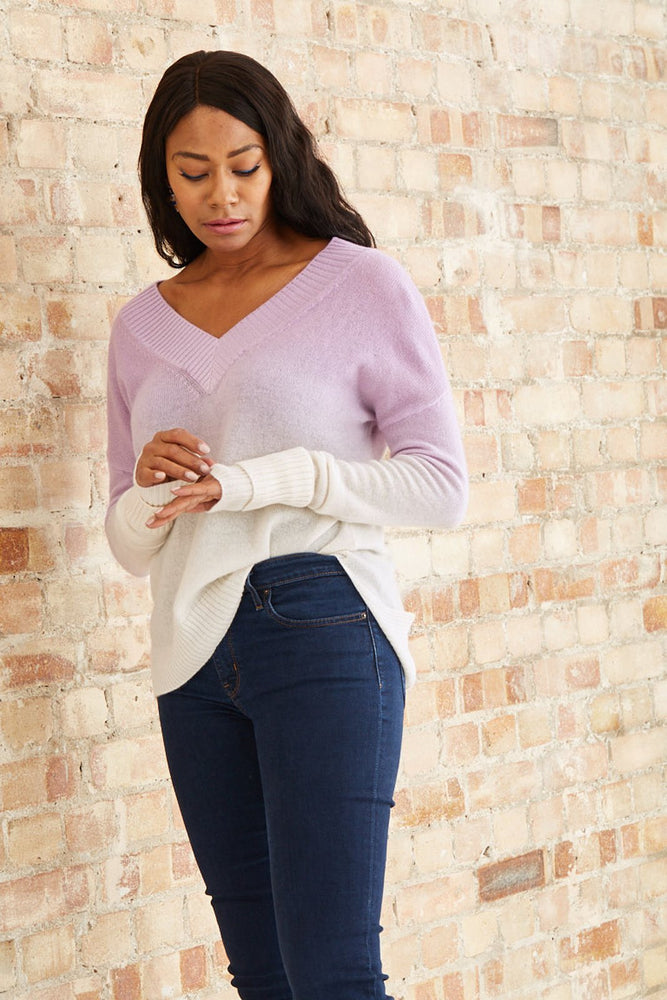 Clemmie 100% Cashmere Jumper - Charli at The Bias Cut