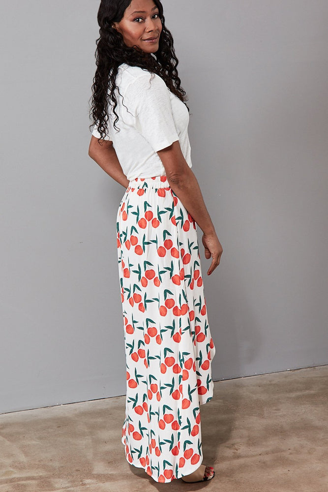 Cora Skirt in Peachy Print - Fabienne Chapot at The Bias Cut