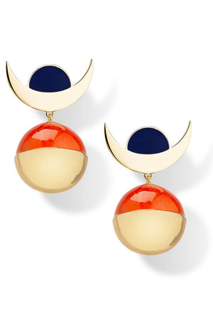 Dimension Statement Earrings - Milk Tooth at The Bias Cut