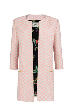 Dots Pink Jacket Size L - POM Amsterdam at The Bias Cut