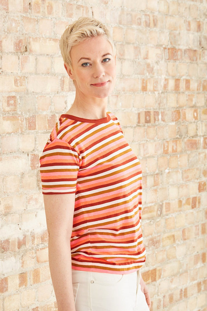 Easy Striped T Shirt - Scotch & Soda
