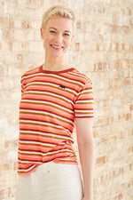 Easy Striped T Shirt