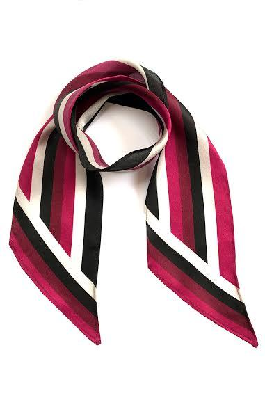 Strike Out Ageism Charity Magenta Henley Scarf