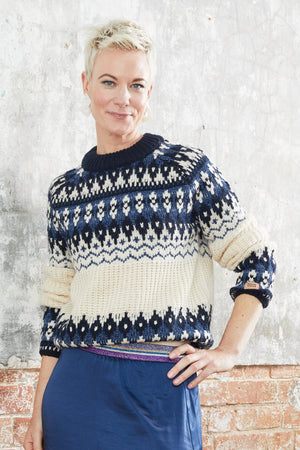 Load image into Gallery viewer, Fair Isle Crewneck Knit - Scotch & Soda