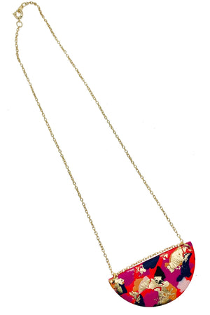 Fire & Flood - Medium Necklace - No Shrinking Violet
