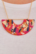 Fire & Flood Statement Necklace