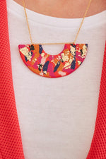Fire & Flood Statement Necklace - No Shrinking Violet