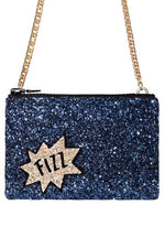 Fizz Glitter Cross-Body Bag