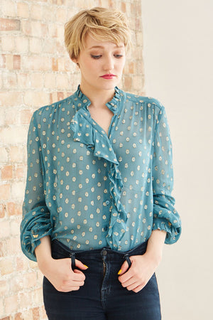 Load image into Gallery viewer, Garden Blouse Pre-Order - Fabienne Chapot